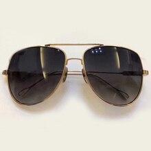 New TITANIUM Frame Sunglasses Men Pilot Style High Quality UV400 Protection Sun Glasses LUnette De Soleil Femme