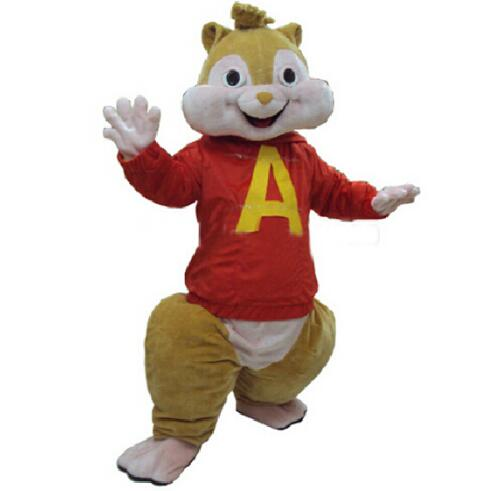 Red Alvin And The Chipmunks Costume Chipmunk Mascot Costume Halloween Costume Costumes Halloween Costumes Costume Halloweencostume Costume Aliexpress