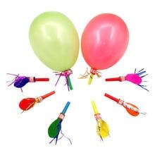Whistle Party-Supplies Noise-Maker Birthday Sound-Toys Kids 50pcs Balloons Festival Celebrations