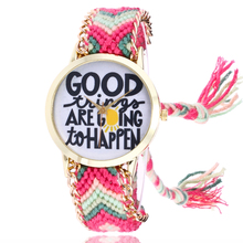 Здесь можно купить  women watches Fashion Color of wool weave unique dial students quartz clock bracelet female watch Ladies dress wristwatches  Quartz Wristwatches