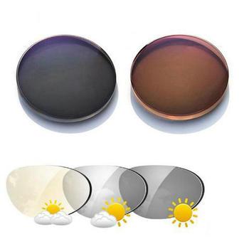 1.56 Photochromic  Aspheric Optical Prescription Lenses Fast and Deep Color Coating Change Performance  NX