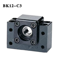 BK12 C3 and Ballscrew Nut bracket End Supports CNC