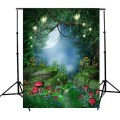 5x7ft Fairy Tale World Green Forest Photography Background For Studio Photo Props vinyl Photographic Backdrops 1.5x 2.1m