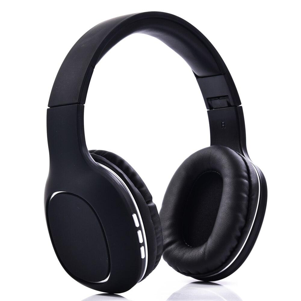 NVAHVA Bluetooth Pliable Casque Sans Fil Casque Pour Téléphones PC TV Électronique Carte MP3 Écouteur avec Mains Libres MIC AUX câble