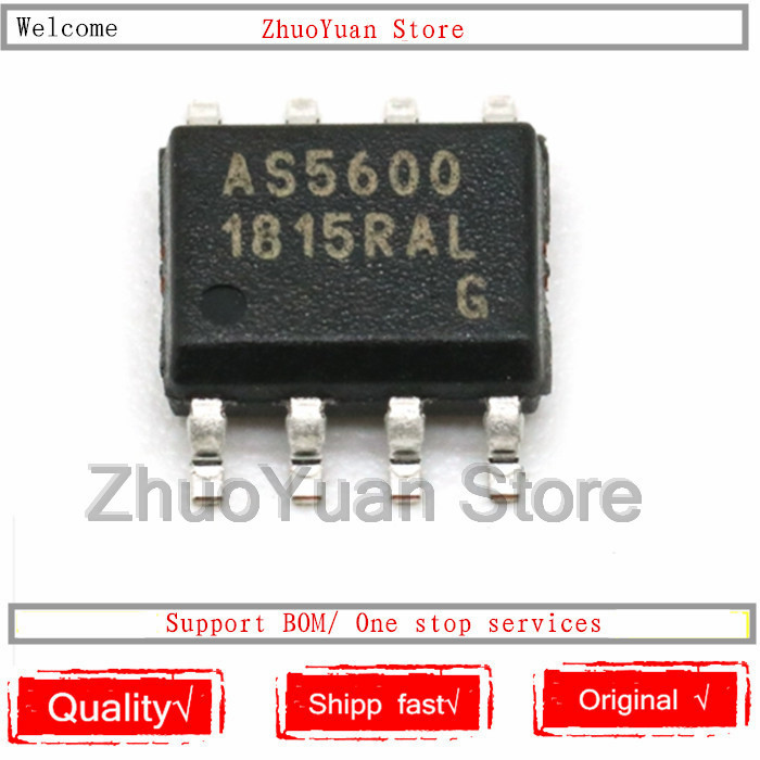 1PCS/lot AS5600-ASOM AS5600 SOP8 New Original IC Chip