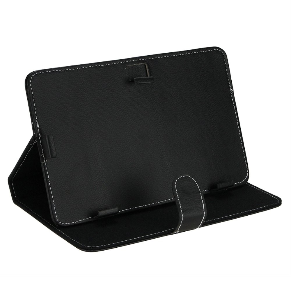 YOC Hot Leather Folder Pouch Cover Skin Case Shell, Tablet Cover, Tablet Case For 9 inch Tablet PC(Black 9 inch) a grip a thick folder word folder a word a clips 4 inch 6 inch 9 inch