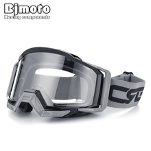 BJMOTO Brand 100% Motocross Goggles Glasses Skiing Sport Eye Ware MX Off Road Helmets Gafas for Motorcycle ATV DH MTB