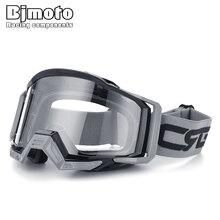 BJMOTO 브랜드 Motocross 고글 안경 스키 스포츠 아이웨어 MX 오프로드 헬멧 Gafas 오토바이 고글 ATV DH MTB