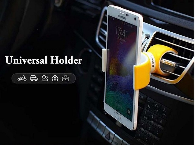 Universal Air Vent Mount Bicycle bike Car phone Holder for iPhone X 7 8 Samsung galaxy S6 s7 XIAOMI MI 6X  phone holder Stroller