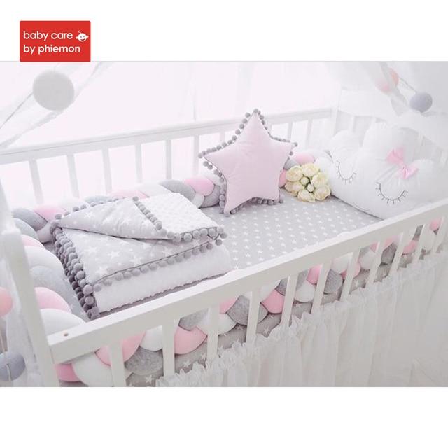 Baby Bed Wieg.Babycare Baby Bed Wieg Bumper Nodic Knoop Handgemaakte Braid Weaving