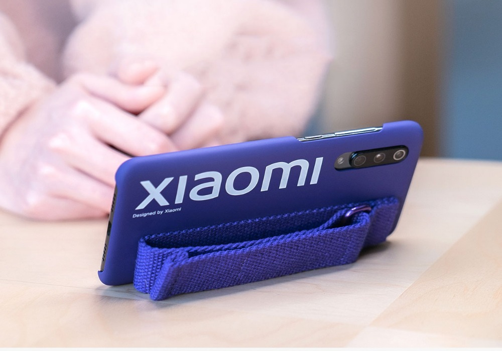 Image 3 - Original Xiaomi 9 Case 9 SE Hard Case PC Wrist strap Cover Protector Back Cover Case For XIaomi 9 Mi 9SE / screen film PET-in Fitted Cases from Cellphones & Telecommunications