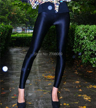 LG42 Unisex Lycra Spandex Tights Solid Color Opaque Zentai Legging Fetish Wear Customize Size
