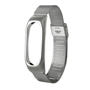 Strap Wristband Stainless-Steel 2-Bracelet Xiaomi for Lightweight