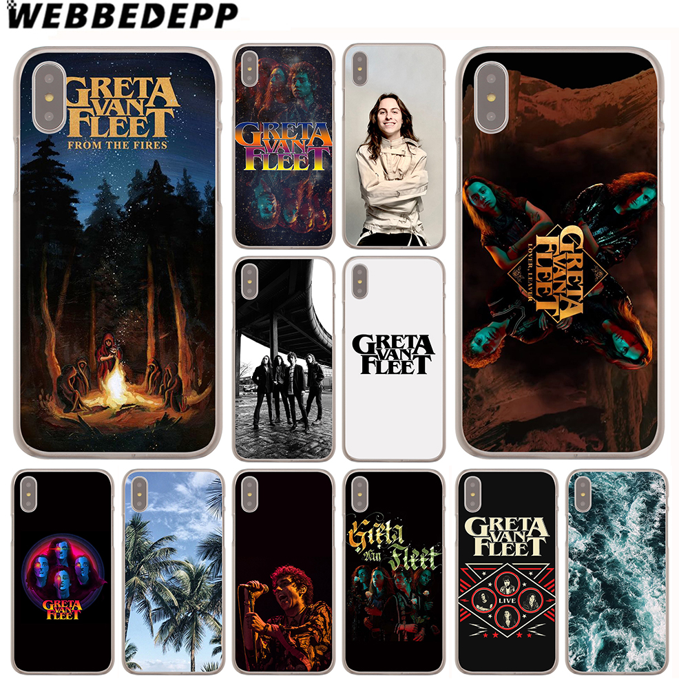 97db7b93d52 WEBBEDEPP Greta Van Fleet Bands Case for Apple iPhone 4 4S 5C 5S SE 6 6S