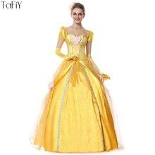 Yellow sandy fancy dress