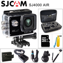 "Original SJCAM SJ4000 AIR 4K Action Camera Full HD Allwinner 4K 30fps WIFI 2.0"" Screen Mini Helmet Waterproof Sports DV Camera"