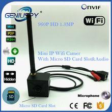960P Mini WiFi IP Camera Audio With Micro TF SD Camera Wireless Network Wifi Camera TF Card Micro Surveillance IP Camera Wi-Fi