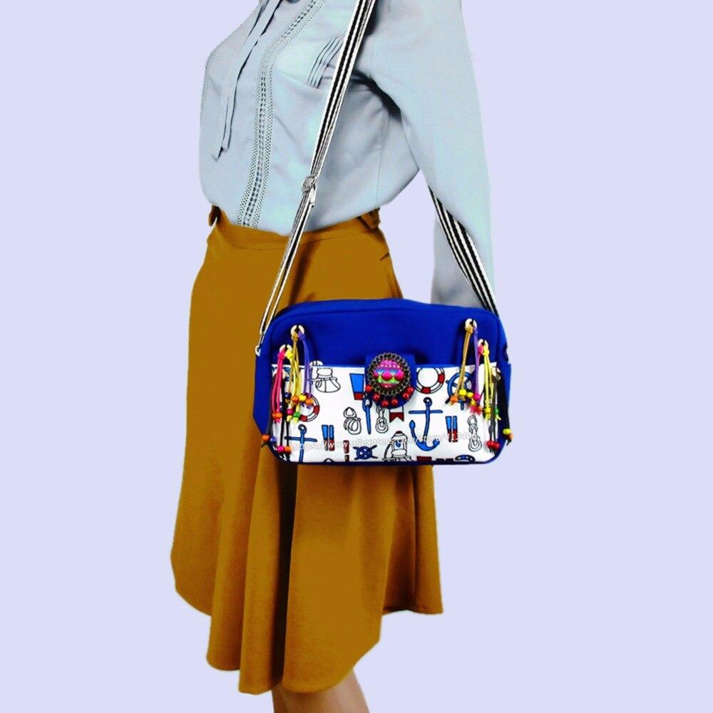 빈티지 hmong 종족 보헤미안 호보 어깨 가방 캐주얼 술 여행 가방 캔버스 다채로운 술 pom 매력 SYS - 1006