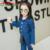 2016 Nova Primavera Outono Meninas Denim Conjuntos de Roupas Infantis Meninas de Manga Comprida Calças De Brim Macacão Crianças Meninas Esfriar Roupas Conjuntos