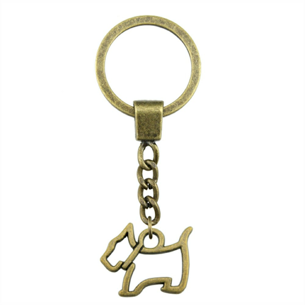 Fox Pig Dog Pendant Mix Animal Key Chain For Diy Handmade Gifts Key Chain in Key Chains from Jewelry Accessories