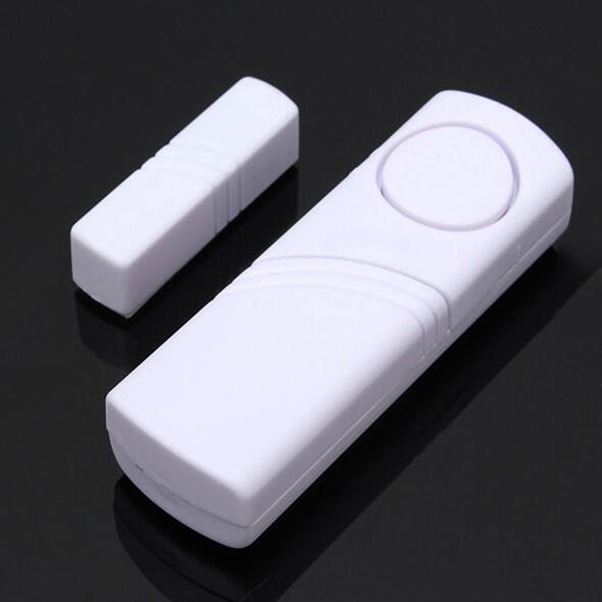 White Magnetic Wireless Motion Detector Alarm Barrier Sensor For Home Security Door Alarm System Qiang