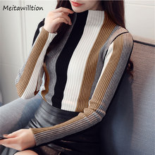 Women Pull Femme Turtleneck Women Sweaters And Pullovers 2018 Autumn Winter Knitted Top High Elastic Soft Female Pullover Jumper