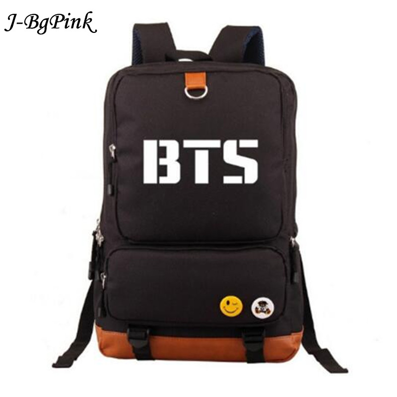 Women backpack BTS Kpop Bangtan boy girl new book bag backpack student book shoulder bag BTS Korean student bag cambridge english empower advanced student s book c1