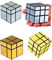 Nueva Shengshou 2x2 Mirror Cube 2x2x2 Mir-dos 2x2x2 espejo 3x3 Bloque Cubo Mágico de Plata
