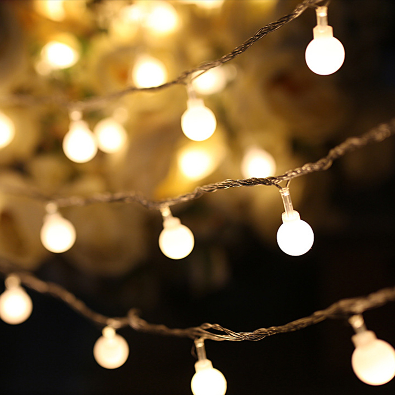 2M 3M,4M LED String Light Warm White Fairy Light Holiday Light For Party Wedding Decoration Christmas Lights Garland