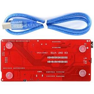 Image 2 - Carte de développement riche multifonction pour Arduino UNO R3 Atmega328P, avec module capteur MP3 /DS1307 RTC/température/tactile