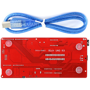 Image 2 - Rico multifunções uno r3 atmega328p placa de desenvolvimento para arduino uno r3 com mp3/ds1307 rtc/temperatura/módulo sensor de toque