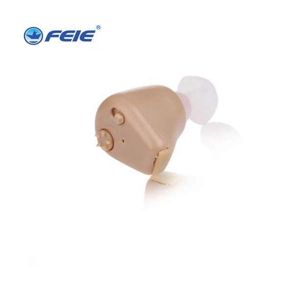 Feie new products 2017 cheap micro invisible audio listening devices china deaf rechargeable hearing aid S-216 feie micro ear mini invisible voice