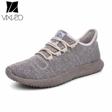 VIXLEO Men Shoes 2017 Fashion Casual Shoes Breathable Lace up Flats outdoor light weight Trainers sneaker Male Zapatillas Hombre