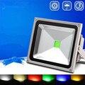 Цветной 20 Вт 30 Вт 50 Вт 100 Вт AC 220 В наружный светодиодный прожектор Водонепроницаемый IP65 свет садовый уличный концентратор диодный проектор