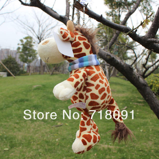 NICI Toy Deer Plush Stuffed Animals with Sucker,Can be Sucked on Glass,20CM,1PC