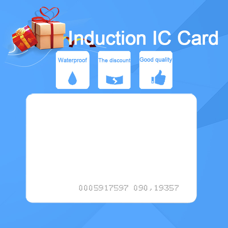 Eseye 10pcs Card 13 56Mhz Rfid MF S50 Proximity 0 8mm IC Card Thin For Access Control System Smart Card ISO14443A RFID Tag in Access Control Cards from Security Protection