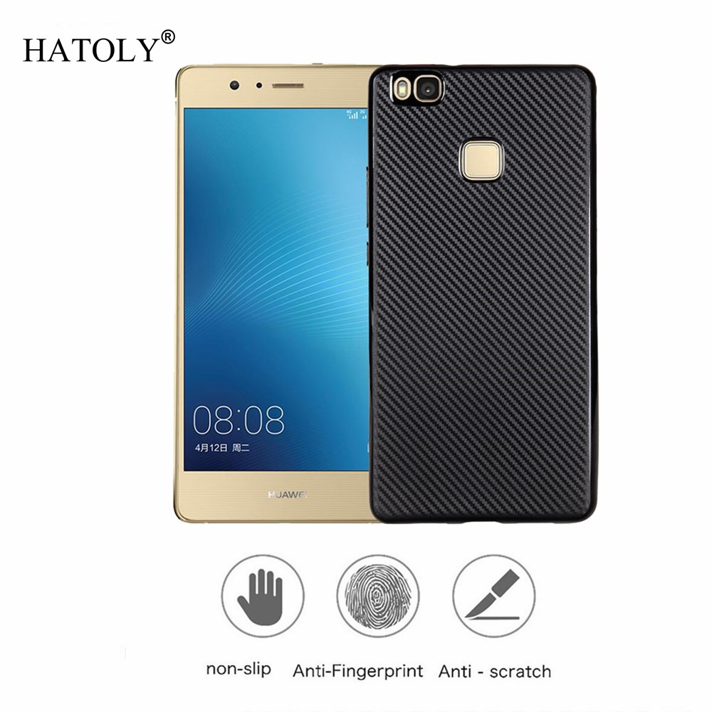 Case For Huawei P9 Lite Case Cover Soft TPU Rugged Case Huawei P9 Lite 2016 Capa Cover Huawei P9 Lite 2016 Walizka Funda HATOLY