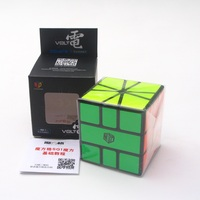 Newest Qiyi Mofangge Volt Sqare 1 Magic Cube Puzzle X Man Design Square 1 Twisty Learning