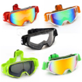 6 Colors Motorcycle Goggles Glasses Motocross googles Bike Cross Country Flexible Goggles Tinted UV