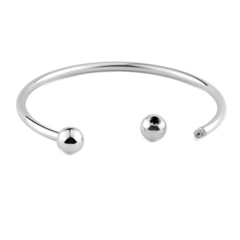 BS001-3 DIY bangle bracelets for women stainless steel