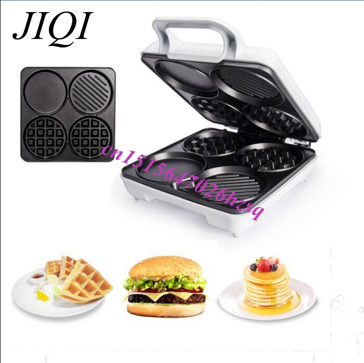 CUKYI waffle maker time-saving simple more useful different kinds of waffle styles healthy and convenient breakfast waffeleisen