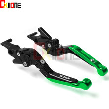 For Kawasaki ER-5 ER5 ER 5 2004-2005 Motorcycle Accessories CNC Aluminum Adjustable Folding Extendable Brake Clutch Lever