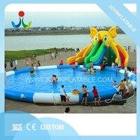 Best качество надувные слон водная горка/гигантские надувные детская горка с бассейн