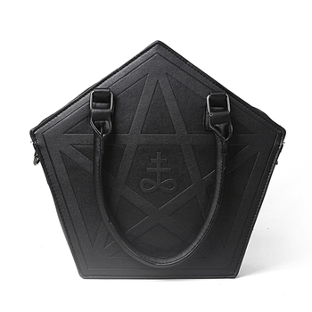 Pentagram Punk Darkness Gothic Five Star Handbag
