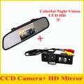 Especial Câmera de Visão Traseira Do Carro para CHEVROLET CRUZE com 4.3 Polegada de Dobramento Carro Espelho Retrovisor Do Carro Monitor de Estacionamento de Backup