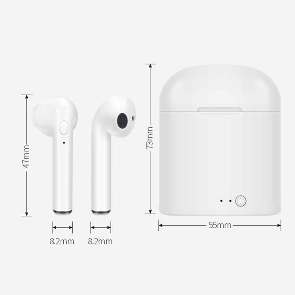 I7s tws sem fio bluetooth fones de ouvido do telefone bluetooth mini fones sem fio com carregamento pod fone para ios android
