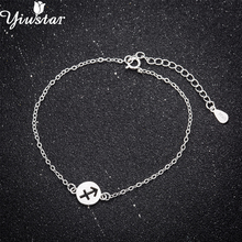 a340bdf36 Buy silver anchor bracelet and get free shipping on AliExpress.com