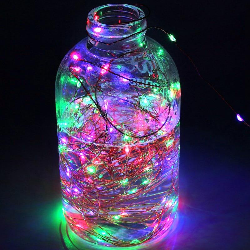 1M 2M 5M 10M 20M LED String Light Fairy Lights LED Strip Lamp Night Light For Christmas Wedding Xmas Garland Party Decoration
