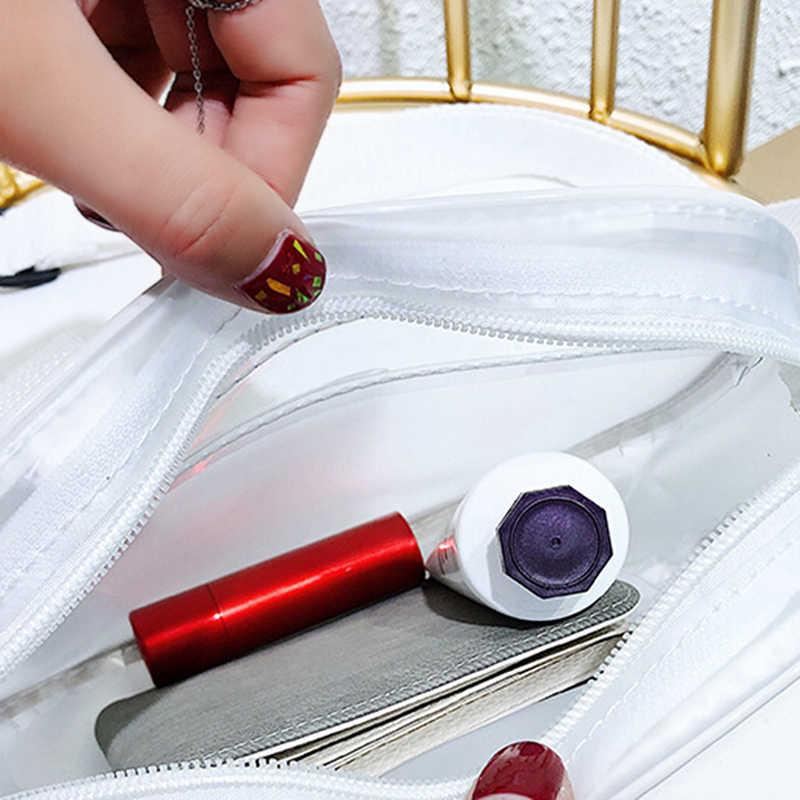 Fashion Jelly Shoulder Bag Summer Zipper Bags Designer Newest Jelly Shoulder Bag Clear Transparent Messenger Handbag Girls