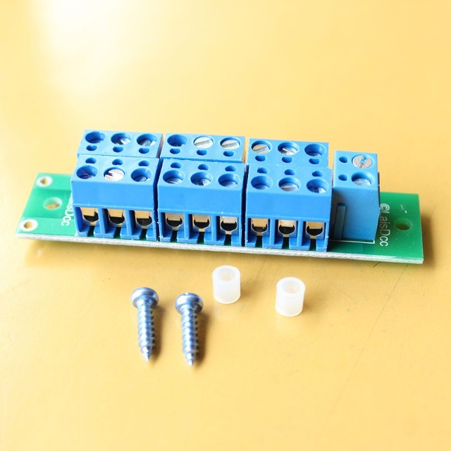 860036 New 1 Set Power Distribution Board for DC and AC Voltage model train ho scale railway modeling/LaisDcc
